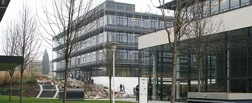 Die Zentrale der MLP AG in Wiesloch