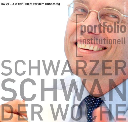 Auf der Flucht vor dem Bundestag