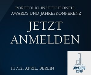 portfolio institutionell Awards Anmedlung