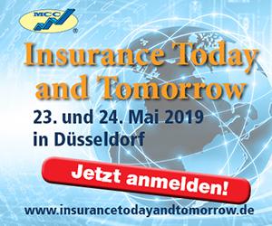 23.-24.05.2019 – Insurance Today and Tomorrow 2019, Düsseldorf