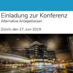 27.06.2019 – Konferenz Listed Alternatives, Zürich