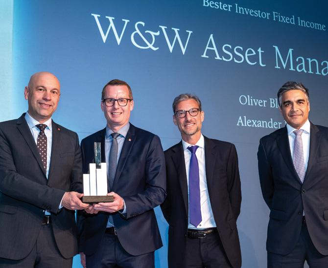 Awards 2019: W&W Asset Management besticht durch ihre Fixed-Income-Strategie