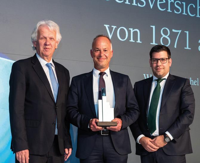 """Awards 2019: Lebensversicherung von 1871 a.G. München  ist """"Beste Versicherung"""""""