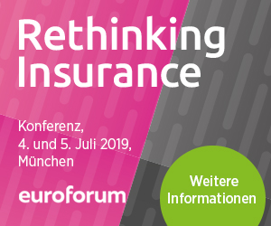 04.-05.07.2019 – Rethinking Insurance 2019, München