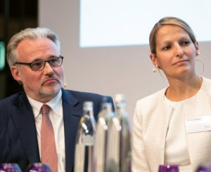 Treiben die internationale Diversifikation weiter voran: Dr. Hans Wilhelm Korfmacher und Maria Leitzbach. (Bild: Andreas Schwarz)