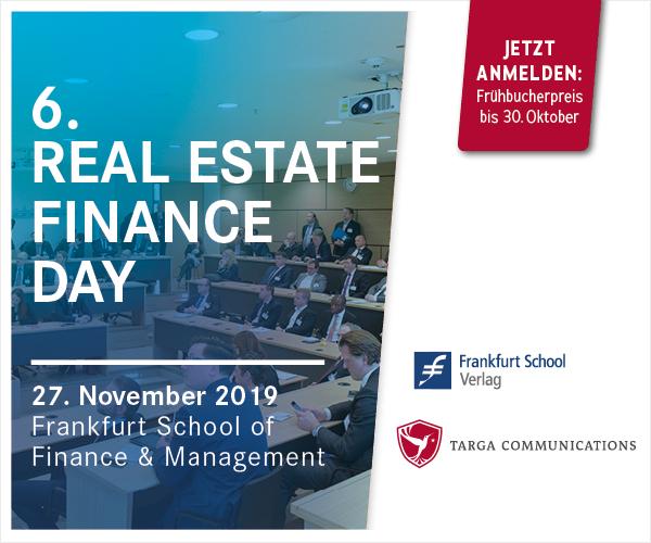 27.11.2019 – Real Estate Finance Day 2019, Frankfurt