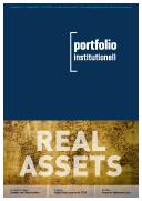 Das Cover der Ausgabe 1019 von portfolio institutionell