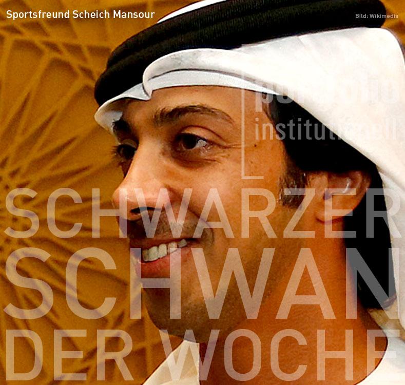 Sportsfreund Scheich Mansour