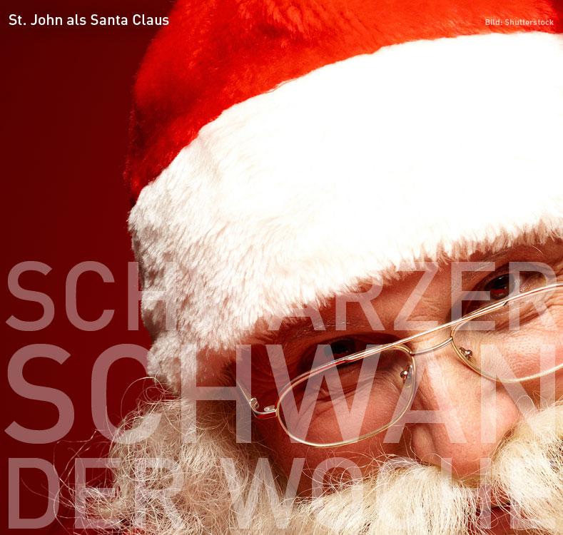 St. John als Santa Claus