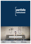 portfolio institutionell, Titelseite des Hefts 1/2020
