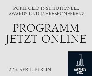 Programm für die portfolio institutionell Jahreskonferenz