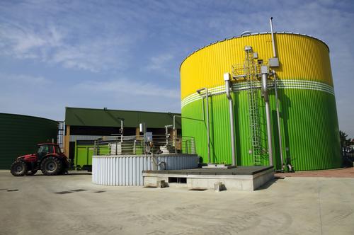 Biogasanlage, Quelle: Shutterstock