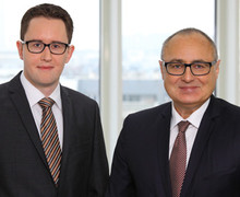 Ulf Schad und Dr. Hubert Dichtl (rechts) (Bild: dichtl research & consulting GmbH)