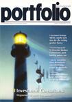 Das Titelbild der Ausgabe Juli/August 2003. Dax und Abschreibungen der Assekuranz sind negativ korreliert.