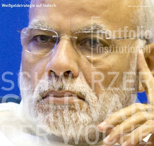 Weißgeldstrategie auf Indisch