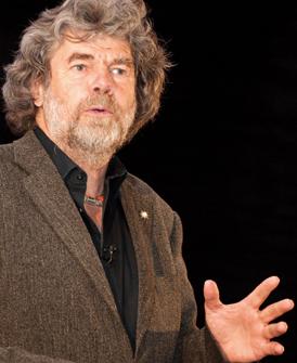 Reinhold Messner, Extrembergsteiger und Buchautor