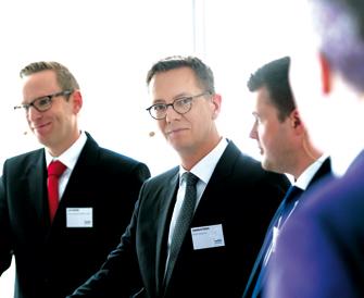Lutz Horstick, Dr. Eckehard Schulz und Thomas Bayerl (v.l.n.r.). (Foto: Andreas Schwarz)