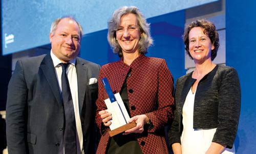 Ein Award für die SOS-Kinderdorf-Stiftung