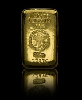Gold im Sondervermögen