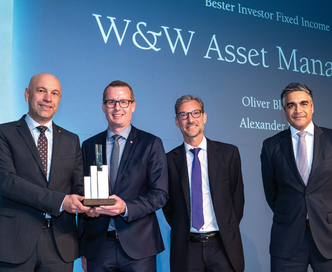 Awards 2019: W&W Asset Management besticht durch ihre Fixed-Income-Strategie