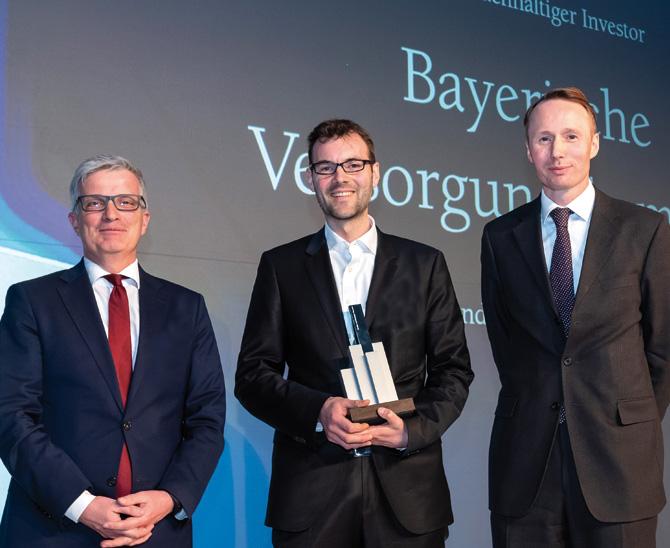 Awards 2019: Die Bayerische Versorgungskammer ist vorbildlich in Sachen Nachhaltigkeit