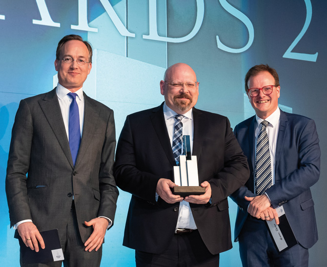 Awards 2019: PK der Genossenschaftsorganisation VVaG überzeugt mit Agilität und Innovationskraft