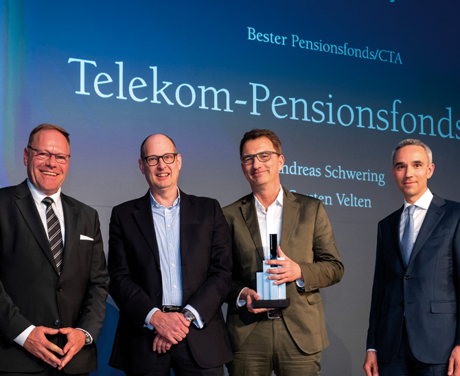 "Awards 2019: Deutsche Telekom wird ""Bester Pensionsfonds"""