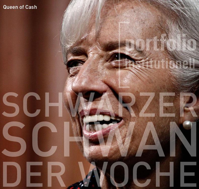 Christine Lagarde: Schwarzer Schwan der Woche - portfolio institutionell