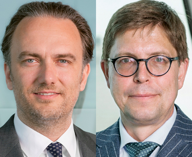 Dr. Sascha Mergner Head of Equities und Thomas Kieselstein, CIO und Managing Partner, Quoniam Asset Management