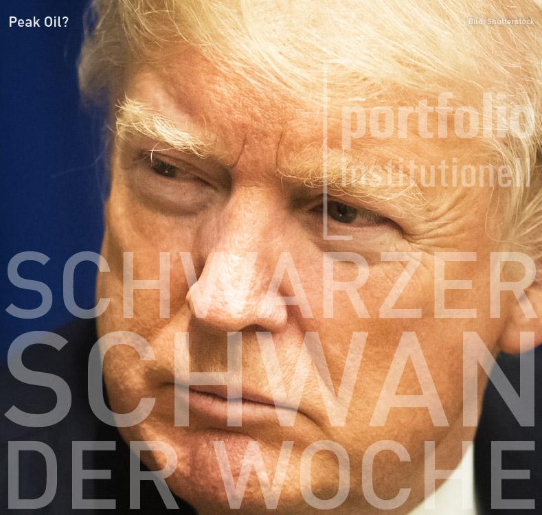 Donald Trump, Schwarzer Schwan der Woche, portfolio institutionell
