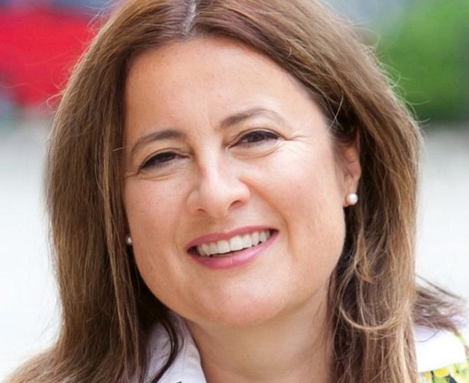 Anke Dembowski, Mit-Gründerin und Co-Geschäftsführerin des Karrierenetzwerks Fondsfrauen
