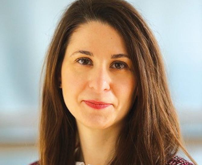 Victoria Arnold, Kundenbetreuerin deutscher Unternehmen & Pensionseinrichtungen – ETF und Index Investing und lokale ESG-Ansprechpartnerin, BlackRock
