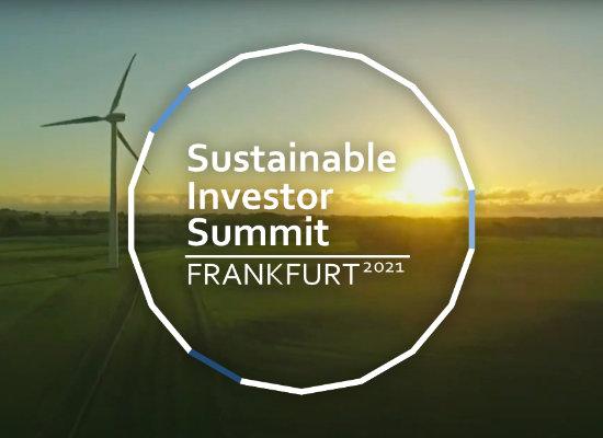 29.09.2021 – 4. Sustainable Investor Summit, Frankfurt am Main