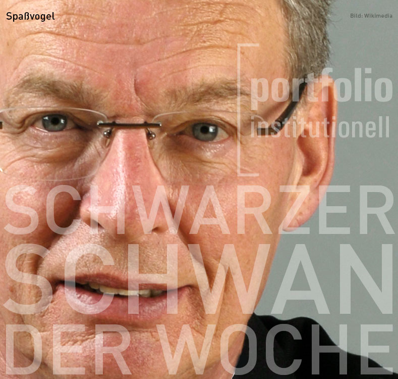 Gerhard Cromme, Schwarzer Schwan der Woche, portfolio institutionell