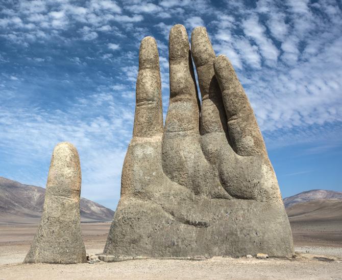 Sehenswürdigkeit in Chiles Atakama-Wüste