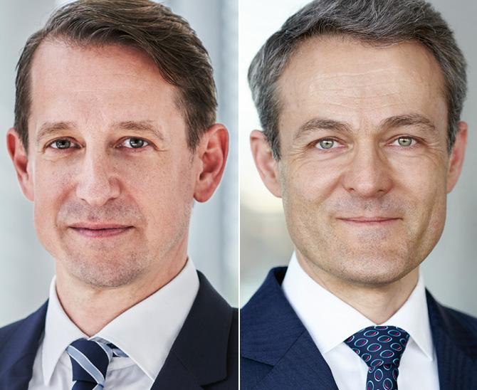 Stephan Steiger, Portfolio Manager Alternative Solutions, und Alexander Raviol, Partner und CIO Alternative Solutions, Lupus alpha Asset Management