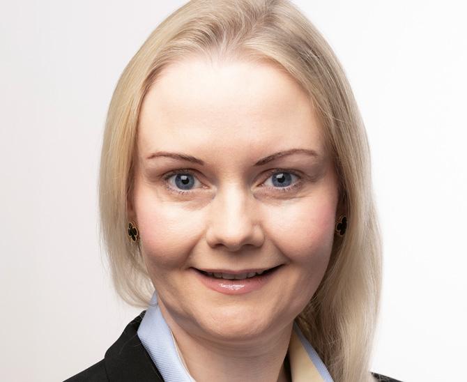 Martina Macpherson, Präsidentin des Network for Sustainable Financial Markets