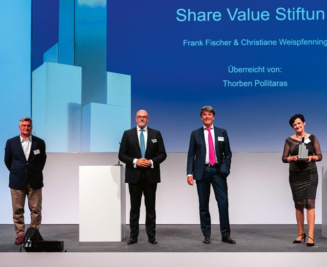 Share Value Stiftung fährt 2020 eine Rendite von 21 Prozent ein
